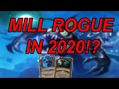 Can The Worst Deck In Hearthstone Go Undefeated? Mill Rogue | Hearthstone | Wild
