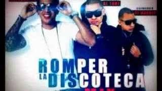 DJ Warner & DJ Tony 2012-De La Ghetto - Romper La Discoteca (Official Mix )