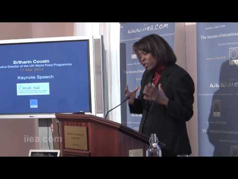 Ertharin Cousin - Keynote Speech - 11 March 2014