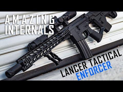 Nightwing Gun?! Lancer Tactical Enforcer Line (Proline Internals) - Airsoft GI