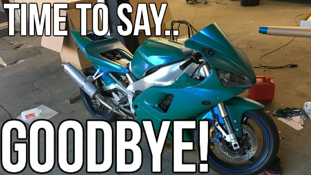 Selling My Motorcycle!! Out With The Old, In With The New.. - YouTube