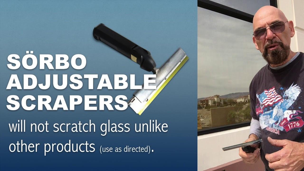 Download Adjustable Window Scraper by Sorbo