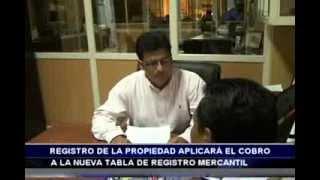 Registro de la propiedad aplicará cobro de nueva taza de registro mercantil