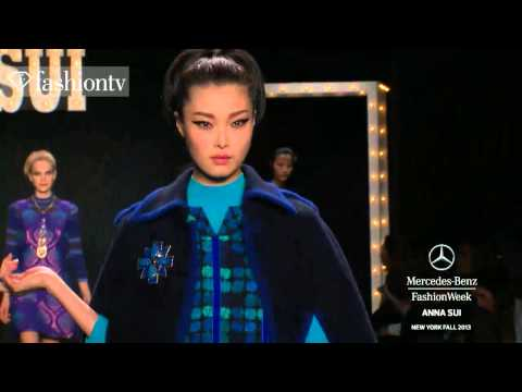 Anna Sui Fall/Winter 2013-14 | New York Fashion Week NYFW | FashionTV