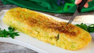 Пышный омлет на сковороде - идеальное блюдо для вкусного и сытного завтрака! | Appetitno.TV