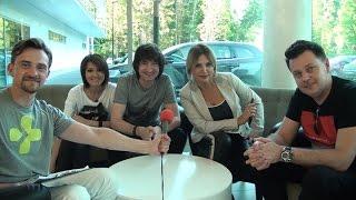 """Эксклюзивное интервью """"с колес"""" группы """"Город 312"""" для ETV+"""