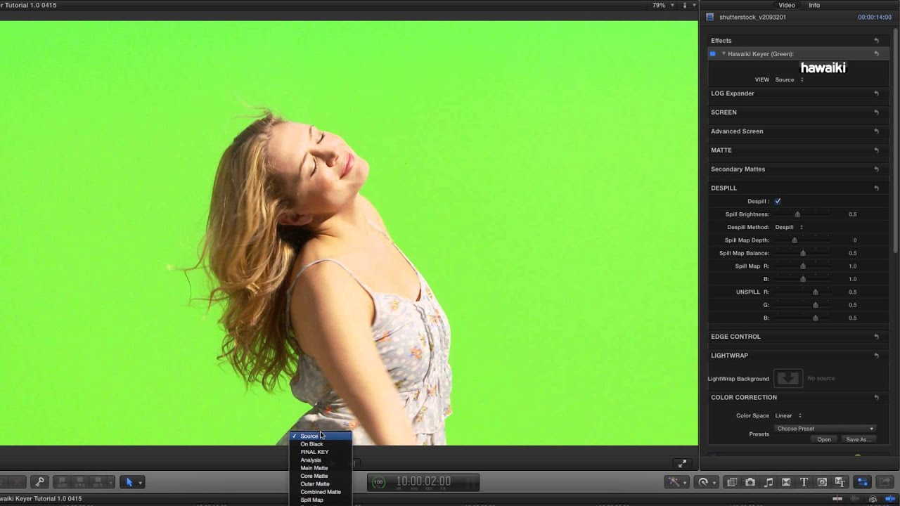 Hawaiki Keyer for FCP, Premiere Pro, After Effects & Motion Extended  Tutorial