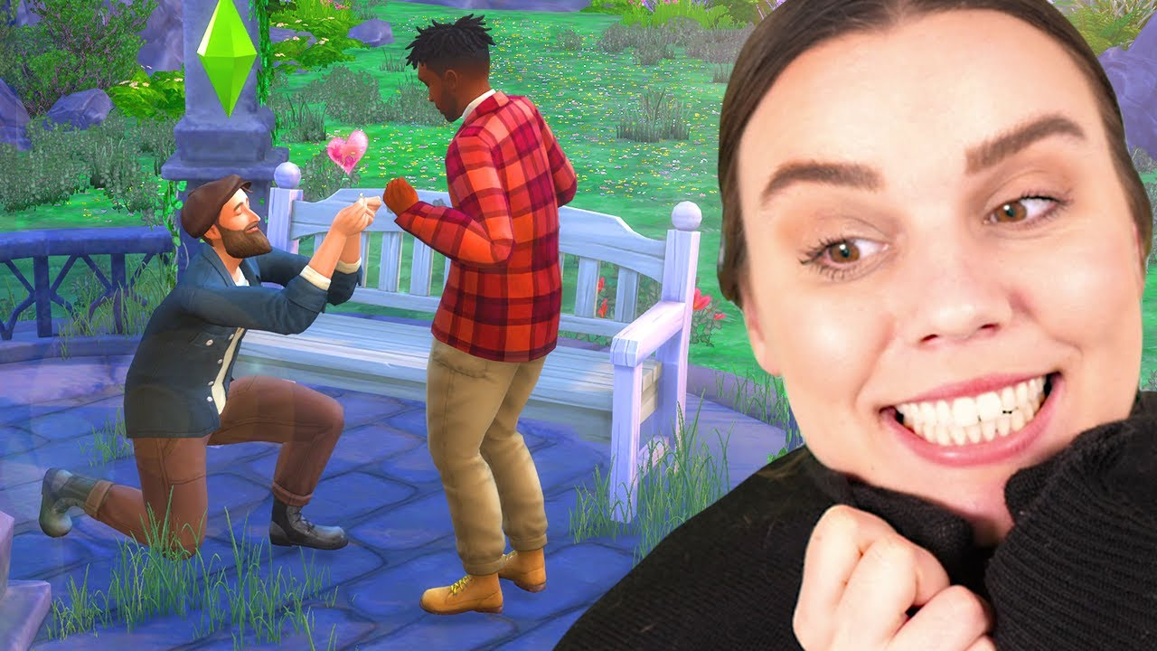 The most romantic proposal ever! - The Sims 4 Cottage Living (part 10)