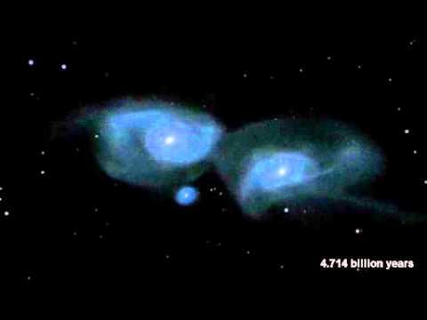 Tabrakan Antara Galaksi Bima Sakti dengan Galaksi Andromeda