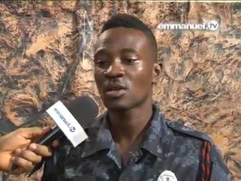 Ghana Police Officer Consultes TB Joshua