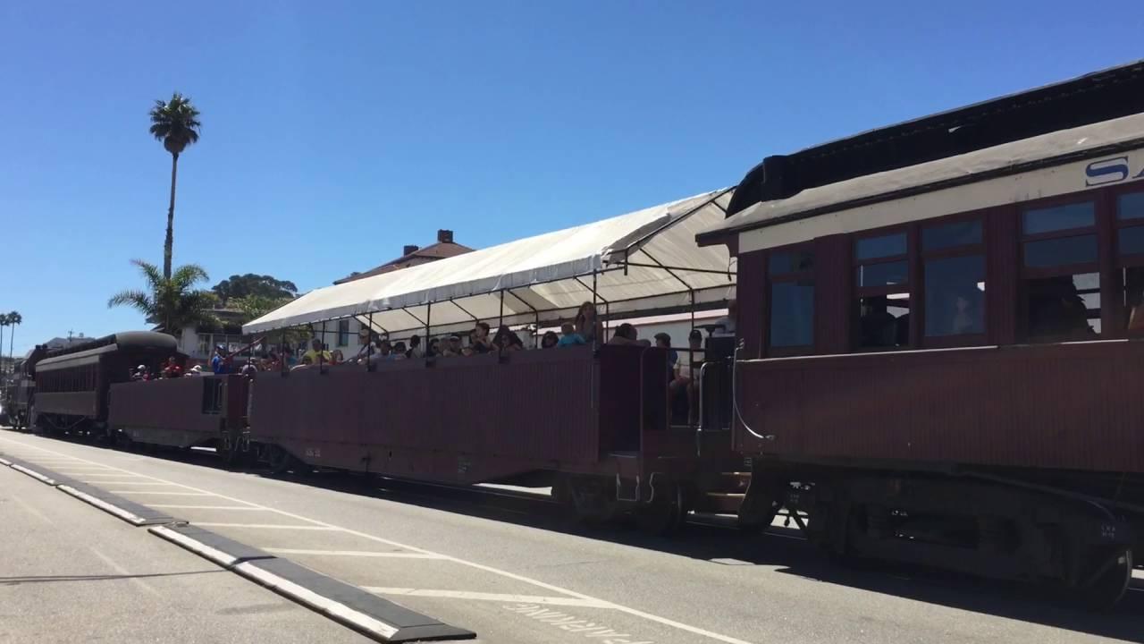 Santa Cruz Beach Boardwalk Train Roaring Camp Railroads