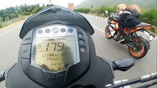 KTM RC 390 VS Duke 390 - Drag Race | Highway Battle | 2018