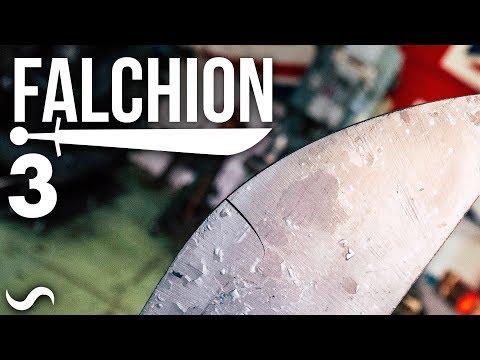 MAKING A FALCHION!!! Part 3