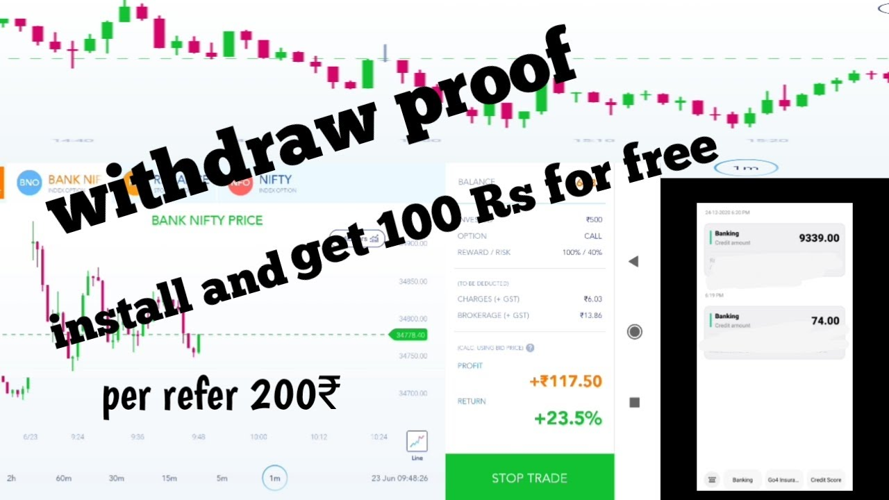 FNO play withdraw proof    100 % indian trading app    earn money with trading Bank NIFT