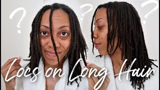 What NO ONE Told Me About Starting Locs on LONG Natural Hair!