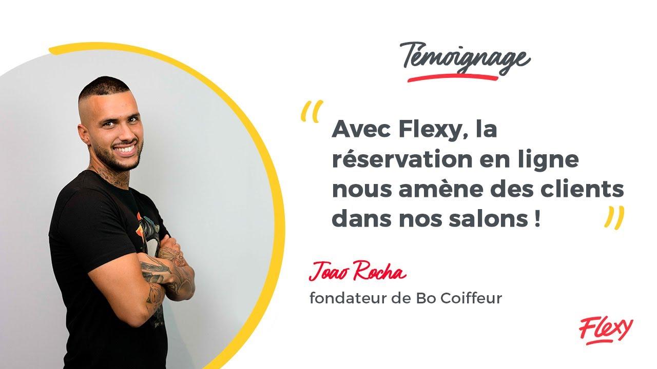 Bo Coiffeur Joao Rocha Developpe Son Salon De Coiffure Avec Flexy Youtube