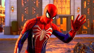 SPIDERMAN PS4 NEW Combat Gameplay Trailer (GamesCom 2018)