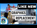 How To REMOVE & REPLACE RV DECALS & RV Graphics   RV Living   RV Life