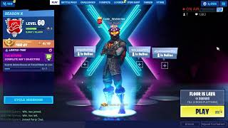 Playing Fortnite Floor is Lava Squads with Subs // Earn coins to get Gift // Fortnite Battle Royale