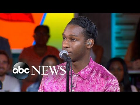 Catching up with Leon Bridges live on 'GMA'
