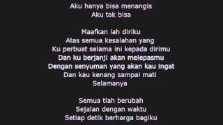 Video Remember Of Today - Pergi Hilang dan Lupakan (Lyric) download MP3, 3GP, MP4, WEBM, AVI, FLV Juli 2018
