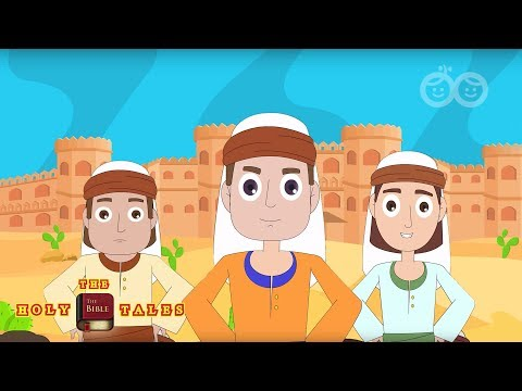 Battle of Jericho I Stories of God I Animated Children's Bible Stories  Holy Tales Bible Stories