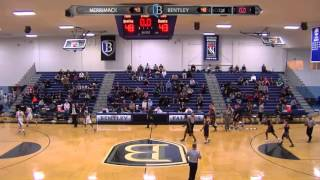 Bentley MBB Tops Merrimack for NE10 Championship | Feb. 23, 20…