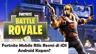 Fortnite Mobile Rilis Resmi untuk iOS, Android Kapan?