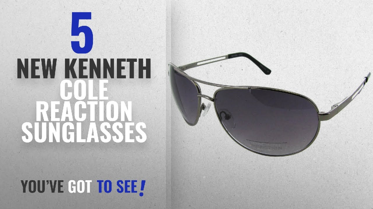 be285d8d61 Top 10 Kenneth Cole Reaction Sunglasses   Winter 2018    Kenneth Cole  Reaction Kcr1069-O753 Men s