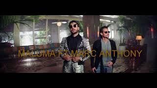 Maluma - Felices los 4 (Salsa Version  ft. Marc Anthony karaoke pista profesional