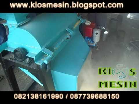 Mesin giling sekam kulit padi jadi dedak bekatul KAP 50-75 kg/jam