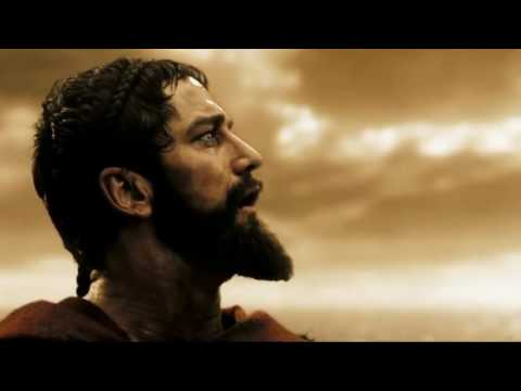 300 + Man Of Steel - Death of Leonidas with Man Of Steel film score