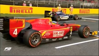 FIA Formula 2 Race2 Catalunya 14.05.17 (first 4 laps)