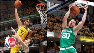 Gordon Hayward leads Celtics' sweep of the Pacers, despite Myles Turner's huge jam | NBA Highlights