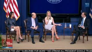 Ivanka Trump Speaks at CEO Town Hall on the American Business Climate