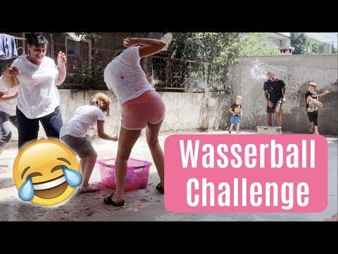 Wasserball-Challenge mit der ganzen Familie  TeamHarrison