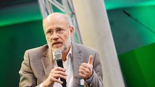 Harald Lesch fordert endlich Konsequenzen aus dem Wissen um den Klimawandel zu ziehen (#HAV16)