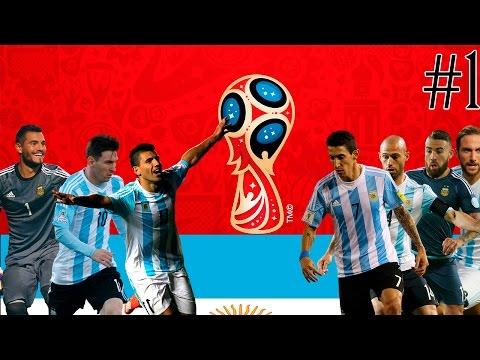 Чемпионат Мира 2018|FIFA 16|Часть 1