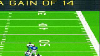 Madden NFL '95 SNES Gameplay