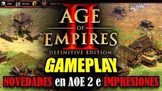 AGE of EMPIRES 2: DEFINITIVE EDITION - GAMEPLAY ESPAÑOL