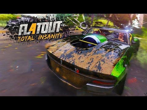 flatout 4 total insanity launch trailer youtube. Black Bedroom Furniture Sets. Home Design Ideas