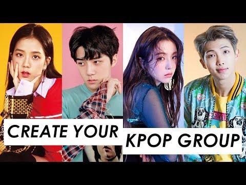 CREATE YOUR KPOP GROUP