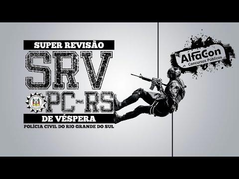 Aula Gratuita - Super Revisão de Véspera - Polícia Civil do Rio Grande do Sul - AO VIVO - AlfaCon