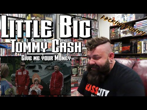 """ONE OF THE FUNNIEST VIDEOS OF ALL TIME!! Little Big Ft. Tommy Cash - """"Give me your Money"""" REACTION!!"""