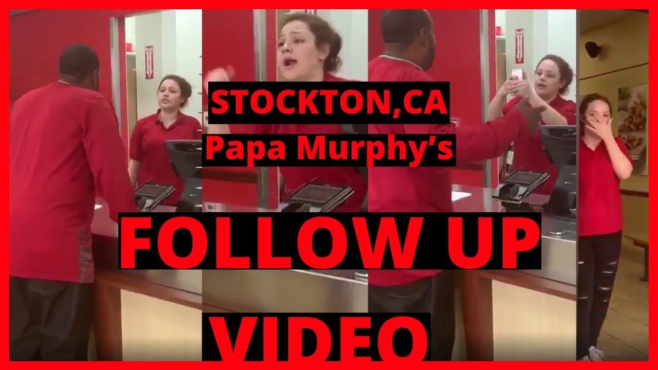  NEWS  Follow-Up   Papa Murphy's  Terminated Cashier Alexis From Their STOCKTON,CA Restaurant