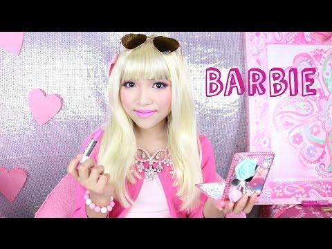 How to look like BARBIE !!!