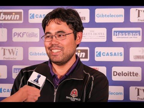 Round 5 Gibraltar Chess post-game interview with Hikaru Nakamura