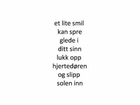 Sputnik - Lukk Opp Din Hjertedør (Lyrics)