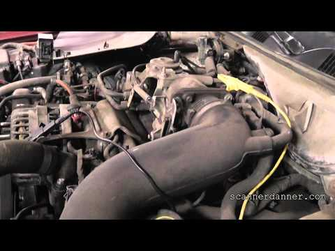 Ford idle air control valve (IAC) test - stalling problems