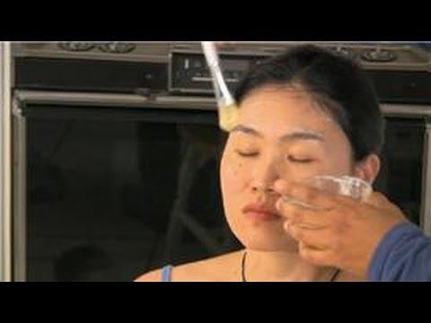 Homemade firm facial skin